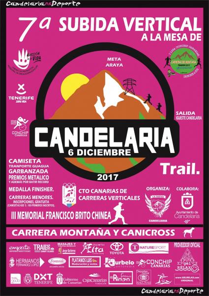canicross tenerife 2018